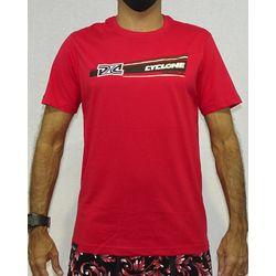 Camisa Trindad Metal Vermelho