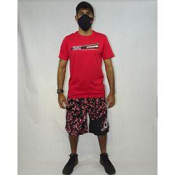 Look Camisa Trindad Metal Vermelho