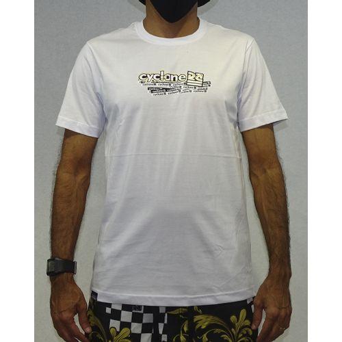 Camisa Names Metal Branco