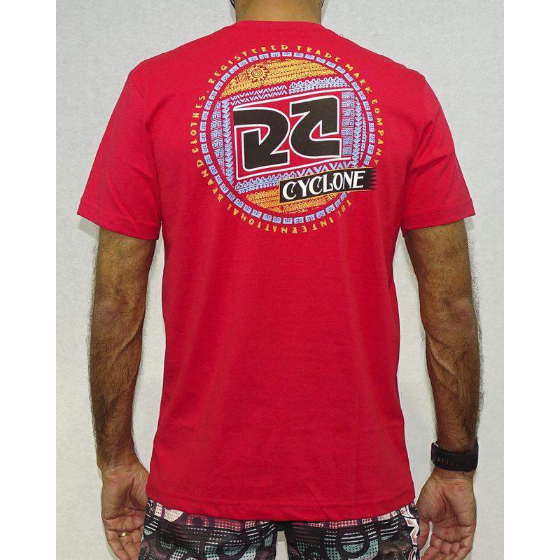 Camisa-Asteca-Silk-Vermelho-Costas