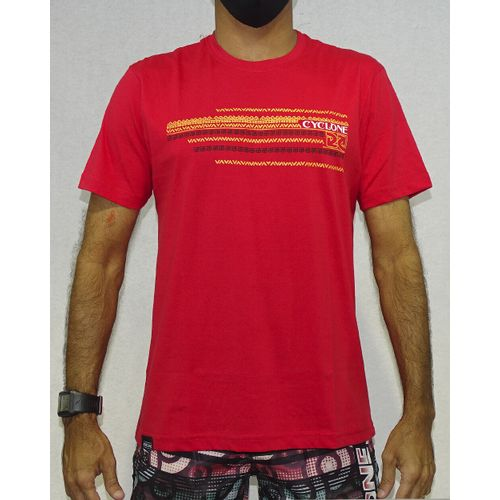 Camisa-Asteca-Silk-Vermelho-Frente