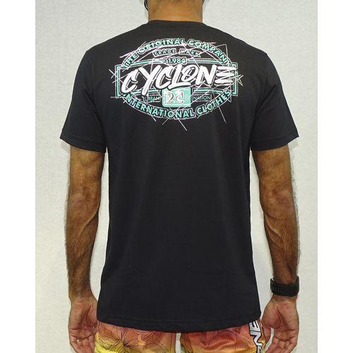 Camisa-Lines-Metal-Preto-Costas