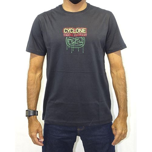 Camisa-Mhayman-Rasta-Metal-Preto-Frente