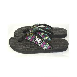 Lateral-Chinelo-Deck-Logo-Bali-Roots-Roxo
