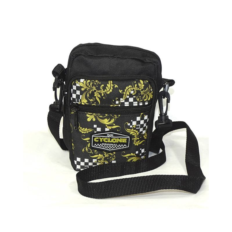 Bolsa-Shoulder-Chess-Tribal-Preto