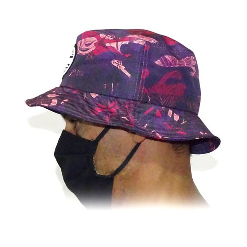 Lateral-Chapeu-Bucket-Camuflado-Tropical-Rosa