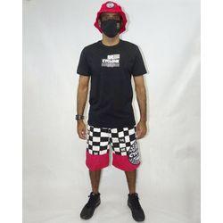 Look-Bermuda-Veludo-Recorte-Chess-Vermelho