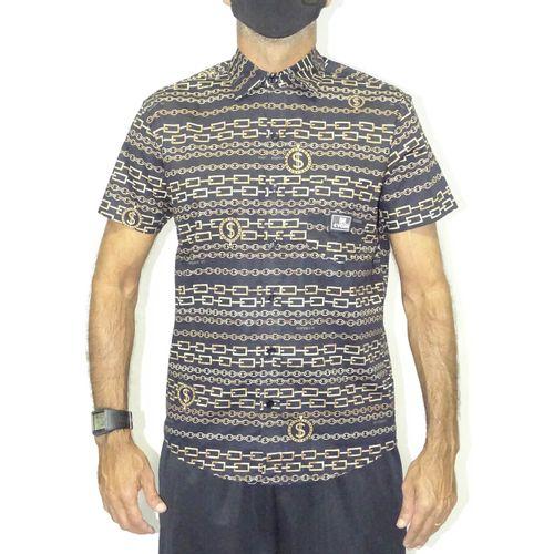 Camisa-Tecido-Chains-Preto