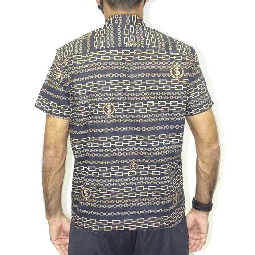 Costas-Camisa-Tecido-Chains-Preto