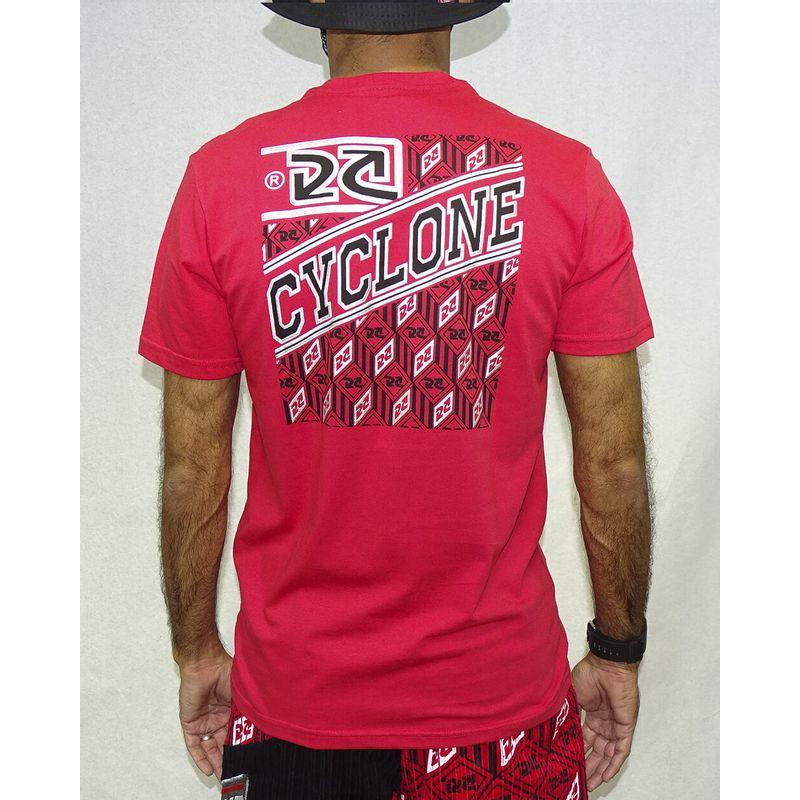 Camisa-New-Mosaic-Metal-Vermelho