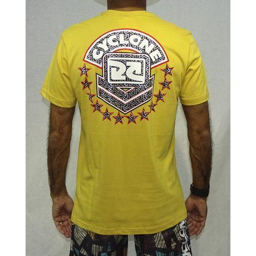 Camisa-Bocas-Metal-MOstarda