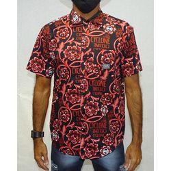 Camisa-Tecido-Floral-Gothic-Preto-Vermelho