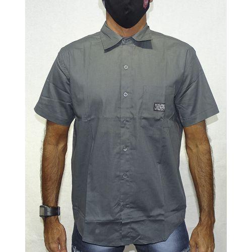 Camisa-Tecido-Space-Metal-Grafite