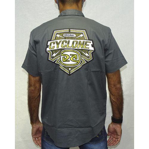 Costas-Camisa-Tecido-Space-Metal-Grafite