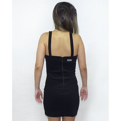 Costas-Vestido-Veludo-New-Tiger-Light-Preto