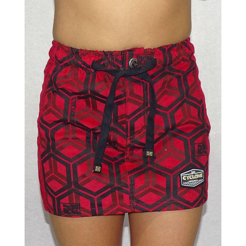 Saia-Veludo-Hexagon-Vermelho