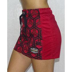 Lateral-Saia-Veludo-Hexagon-Vermelho