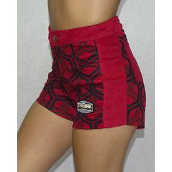 Lateral-Short-Veludo-Hexagon-Light-Vermelho
