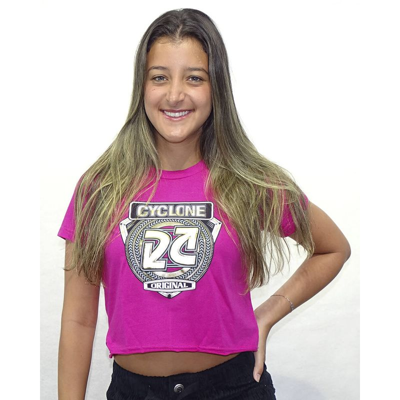 Baby-Look-Menorca-Metal-Pink