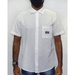 Camisa-Tecido-Logos-Metal-Branco