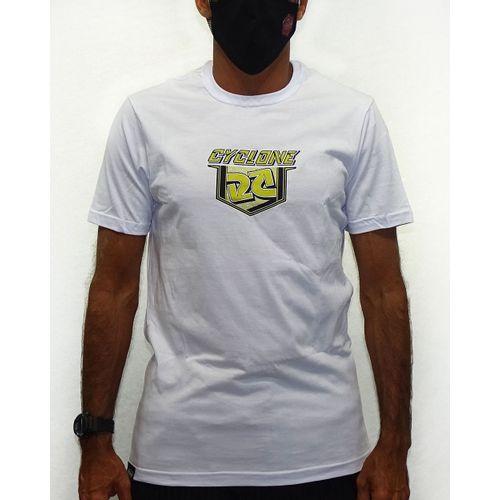 Frente-Camisa-Shield-Metal-Branco