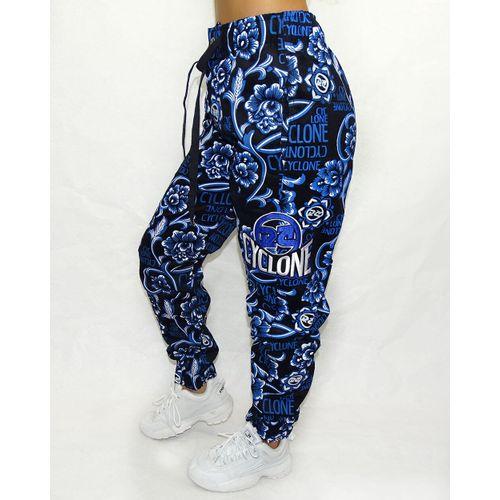 Lateral-Calca-Veludo-Fem-Slim-Gothic-Azul