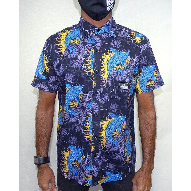 Camisa-Tecido-Samurai-Marinho