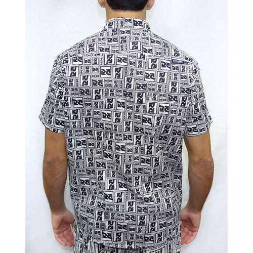 Costas-Camisa-Tecido-Logo-Branco