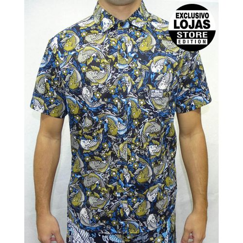 Camisa-Tecido-Fish-Tattoo-Preto