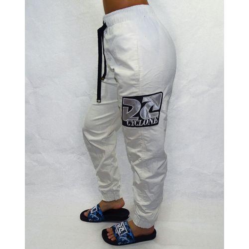 Lateral-Calca-Veludo-Fem-Slim-Logo-Seta-Light-Branco