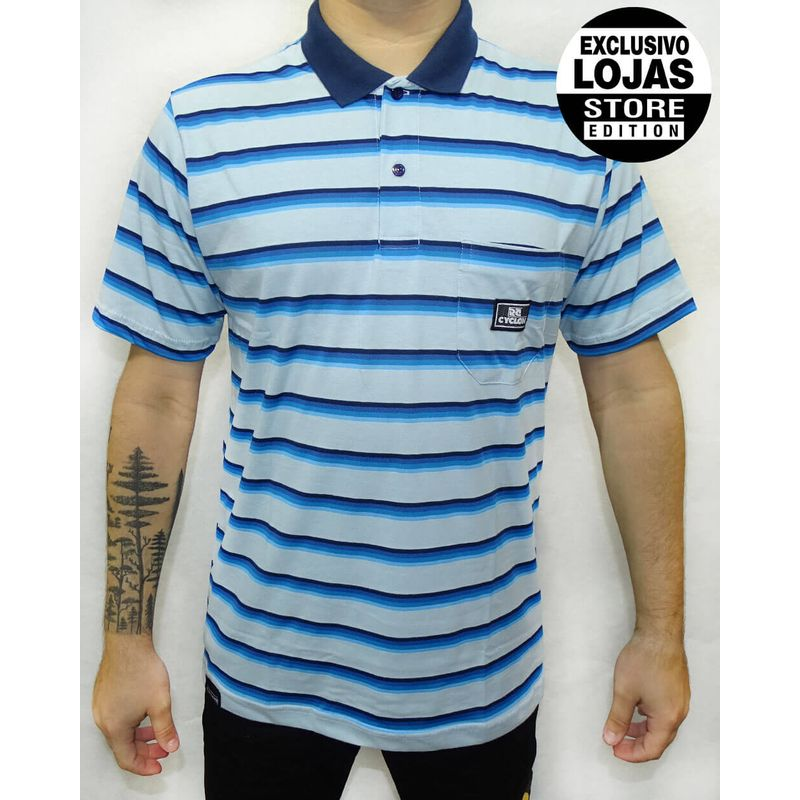 Camisa-Polo-Relax-Florest-Azul