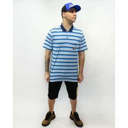 Look-Camisa-Polo-Relax-Florest-Azul