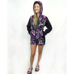 Look-Jaqueta-Feminina-Veludo-Hard-Fish-Light-Rosa-Grafite