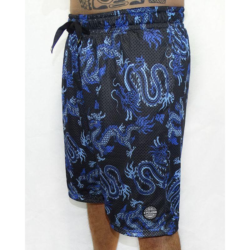 Bermuda-Dupla-Face-Dry-Basket-Banzai-Preto-Azul