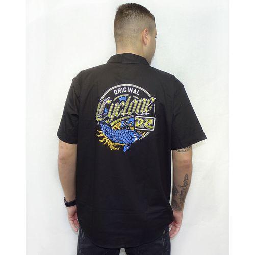 Costas-Camisa-Tecido-Samurai-New-Metal-Preto