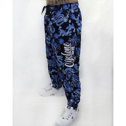 Calca-Veludo-Zipper-Banzai-Preto-Azul