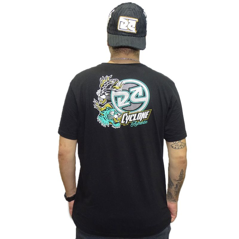 Camisa-Panther-Metal-Preto