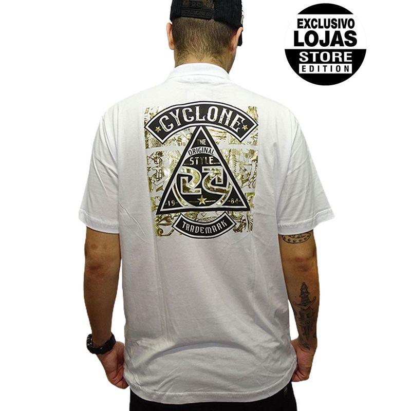 Camisa-Polo-Egypt-Metal-Branco