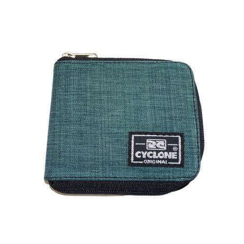 Carteira-Zipper-Mescla-Verde