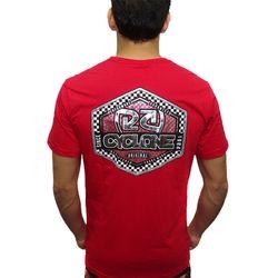 Camisa-Circuit-Metal-Vermelho