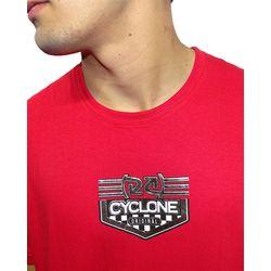 Crop-Camisa-Circuit-Metal-Vermelho