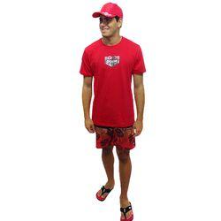 Look-Camisa-Circuit-Metal-Vermelho