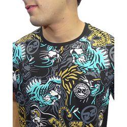 Crop-Camisa-Dif-Panther-Preto