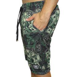 Laeral-Bermuda-Dupla-Face-Dry-Basket-Money--Dupla-Face--Preto