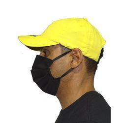 Bone-Microfibra-Tribal-Amarelo-Lateral