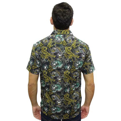 Costas-Camisa-Tecido-Panther-Preto