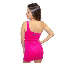 Costas-Vestido-Veludo-Back-Letters-Light-Um-Ombro-So-Rosa